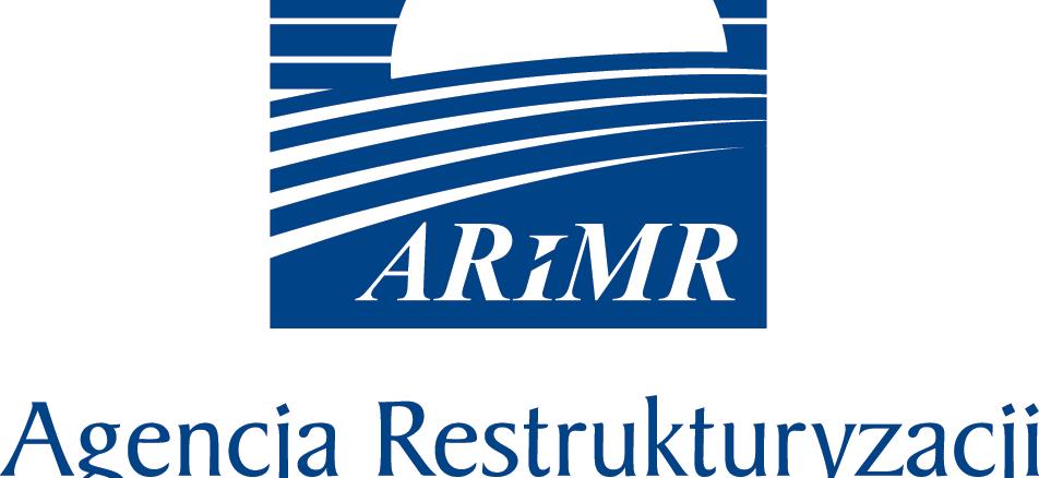 logo ARiMR niebieskie w krzywych B