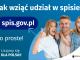 Grafika – jak wziąć udział w NSP Na górze grafiki jest napis: Jak wziąć udział w spisie? Po lewej stronie grafiki jest napis: spis.gov.pl, poniżej: To proste! Po prawej stronie widać kobietę, mężczyznę i dziecko, którzy entuzjastycznie uśmiechają się i trzymają kciuki w górze. W lewym dolnym rogu grafiki są cztery małe koła ze znakami dodawania, odejmowania, mnożenia i dzielenia, obok nich napis: Liczymy się dla Polski! W prawym dolnym rogu jest logotyp spisu: dwa nachodzące na siebie pionowo koła, GUS, pionowa kreska, NSP 2021.